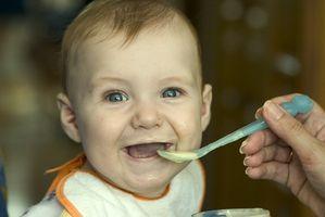 Aktiviteter for spedbarn å bruke sine sanser