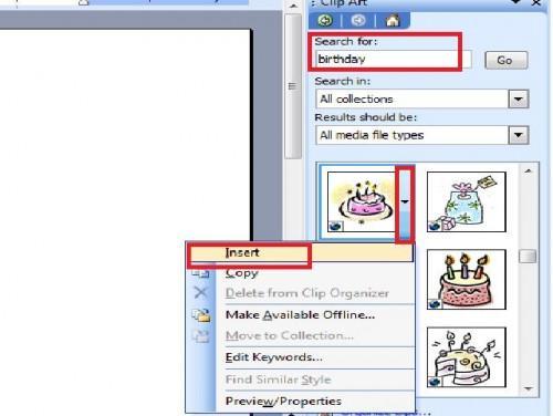 Hvordan lage bursdag invitasjoner på Microsoft Word