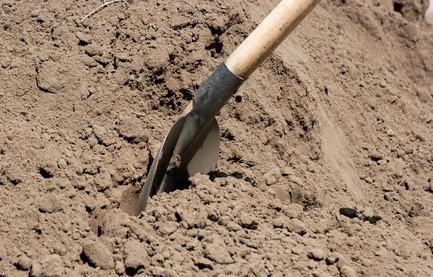 Prospecting verktøyene som brukes til å grave etter diamanter