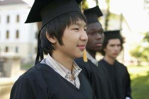 Farger av Graduation Gowns