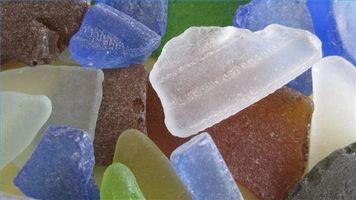 Slik Dekorer Sea Glass