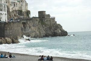 Italienske Beach Bryllup