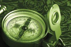 Hvordan rengjøre en Compass