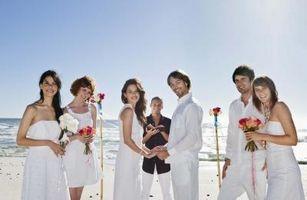 Tradisjonelle Hawaiian Temaer for bryllup
