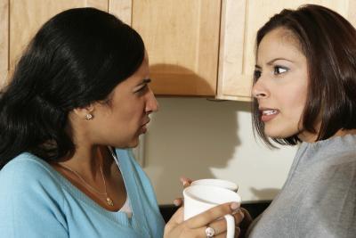 Hvordan ha et samarbeid med din mann ekskone