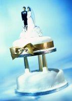 Bruk av Turquoise & Gold som bryllup farger