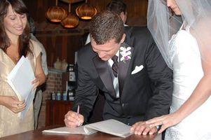 Destination Weddings & Legal Papers