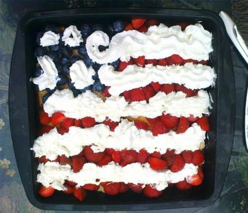 Patriotic Cake dekorere ideer