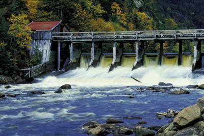 Typer av vanninntaket Structures