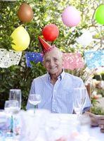 Bursdagskort Ideer for en 80-år gammel mann