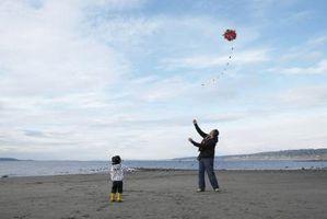 Hvordan lage en stjerne Kite