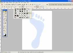 Hvordan lage dekorasjoner med Footprints for en baby shower