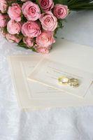 Bryllup Kort Stil & Design