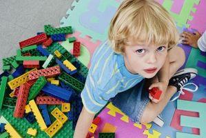 Mønstre av ting å gjøre ut av Legos