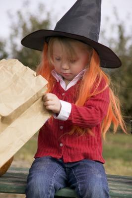 Halloween Foods for Kids med grønnsaker
