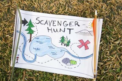 Elementer å finne i en Scavenger Hunt