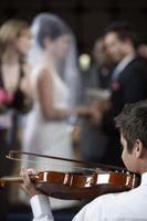 Hvordan Shade Musikere på en utendørs bryllup