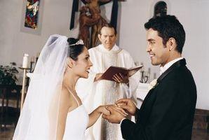 Spirituelle av en Wedding