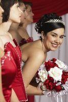 Ideer for et bryllup Bruk Black & Red