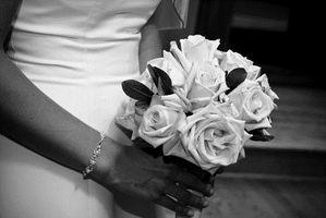 Black & White Wedding Theme Ideer
