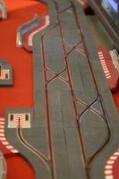 Hjemmelaget Wood Slotcar Tracks