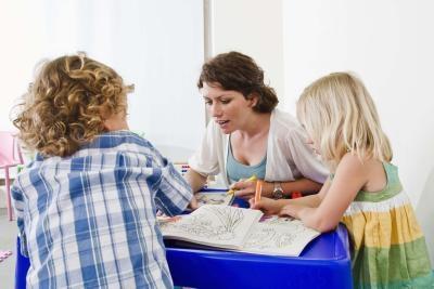 Klasserom Party Games for slutten av skolen