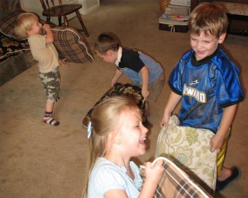 Kids Hjemmelaget Games