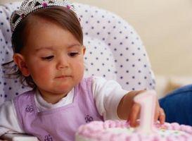 Cake dekorasjon ideer for en jente fødselsdag
