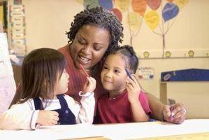 Hvordan Overvåke førskolebarn i klasserommet og på lekeplassen