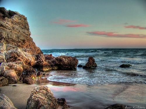 Hvor kommer Pink Sea Glass kommer fra?