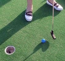 Hvordan bygge en Miniature Golf Hole