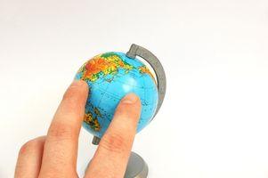 Hvordan lage en World Globe Ball