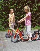 Gassdrevne scootere for Kids