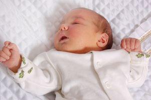 Liste over ting du trenger før babyen er født