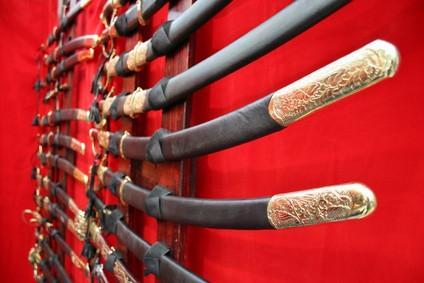 Slik reparerer en Antique Sword