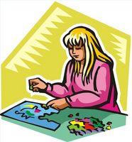 Hvordan Lim Jigsaw Puzzles