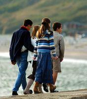 Hva er statistikken på Familie sitte ned Servering og hvordan de påvirker Youth?