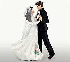 Hvordan velge det perfekte bryllup kake topper