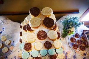 Cupcake Ideer for et bryllup