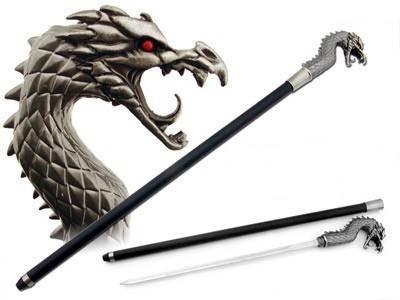 Slik bruker du en Sword Cane