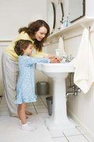 Hvordan lære barn til å vaske hendene