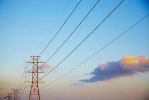 Hva som forårsaker Electric Energy?