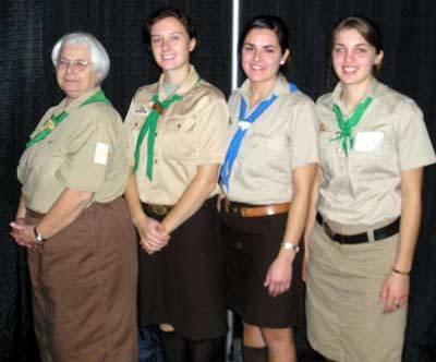 Hvordan bli en Girl Scout