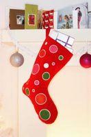 Håndverk med resirkulerte Julekort
