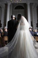 """Hvordan lage en katedral Veil Som i """"Bride Wars"""""""