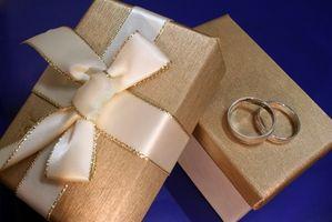 Hvordan lage en gaveregister for et bryllup