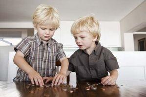 Hvordan vet jeg om gamle mynter er type 1 eller type 2