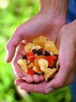 Gaver Hjemmelaget Trail Mix i en Jar