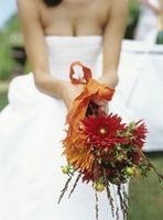 Fall Wedding Buketter og Bridesmaid Blomster