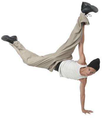 Hvordan Drop på ryggen i en Breakdance